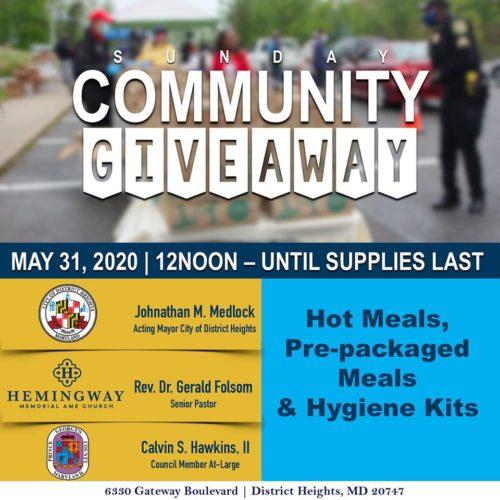 Hemingway Pentecost Sunday Food Giveaway2